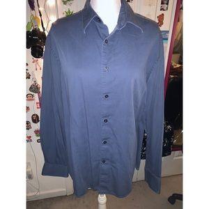 Axist Men's Blue Collar Long Sleeve 💙